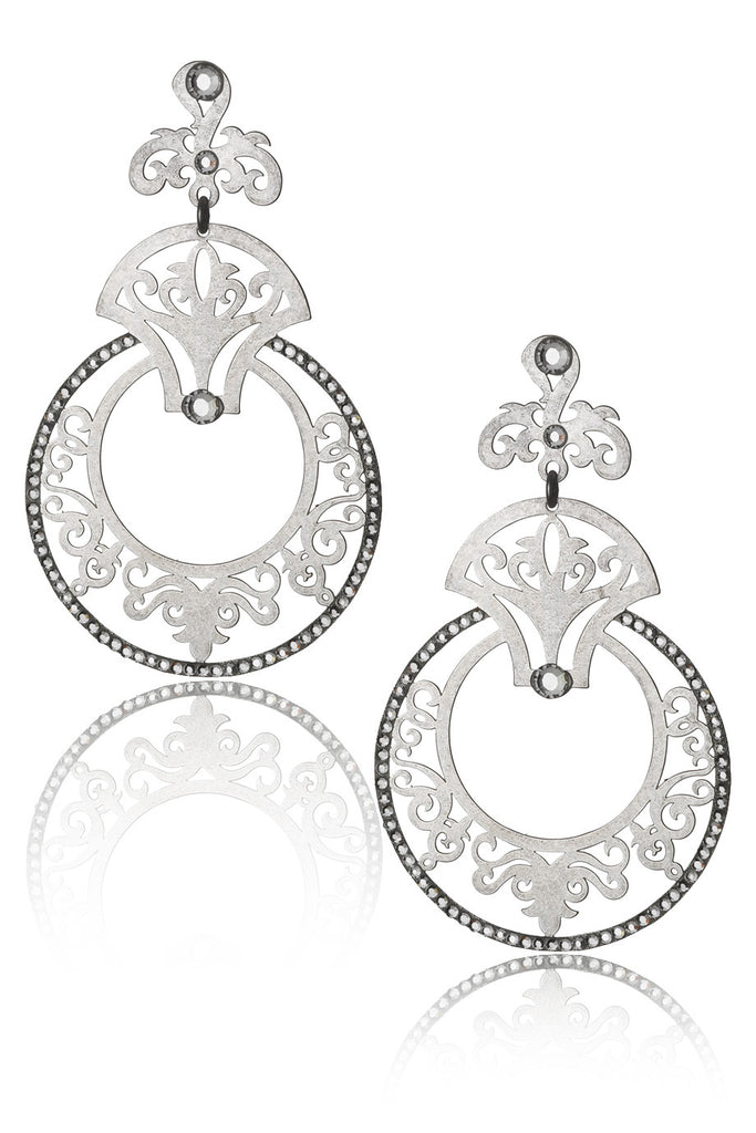 LK DESIGNS TRIBAL Crystal Earrings