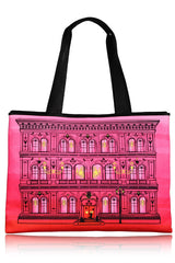 PALAZZO Fuchsia Red Canvas Bag