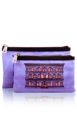 LOVE MOSCHINO Woman Beauty Case Set - PALAZZO Purple Beauty Case Set