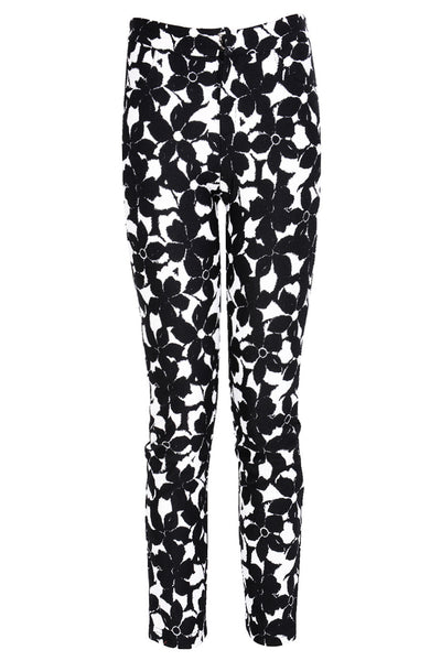 BLACK BRYONY Floral Printed Pants
