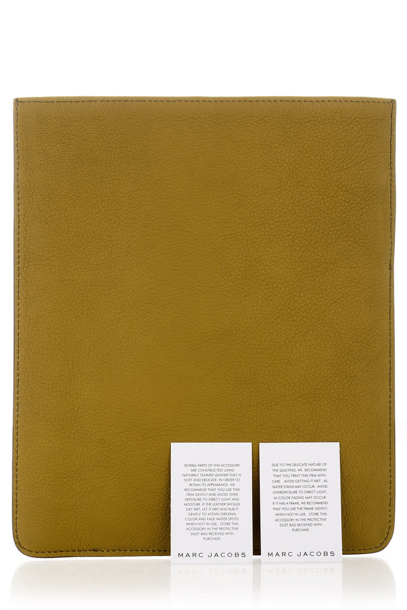 MARC JACOBS MULTI POCKETS Green iPad® Case