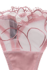 GLAMOUR Pink Lace Flower String