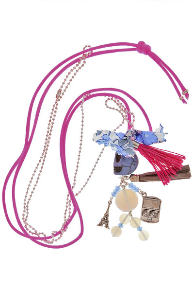 PARIS MARION Denim Puppet Pendant