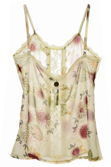 GROSELLA Printed Lace Top