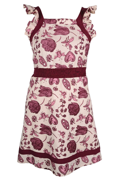KELANG Bordeaux Dress