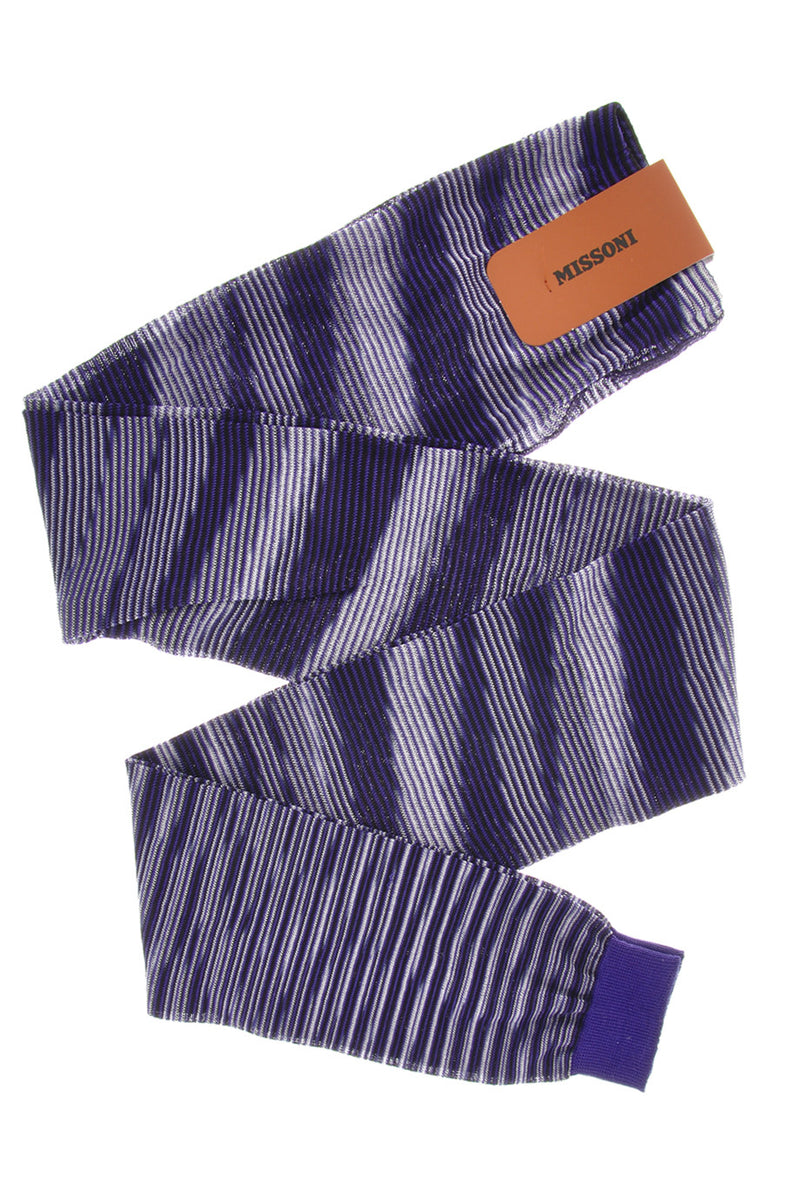 LINES Purple Woven Leggings