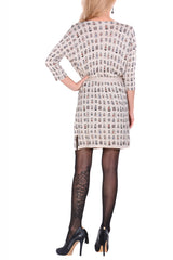 LONDON BIRDCAGES Beige Dress