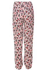LONDON REYA Floral Printed Trousers