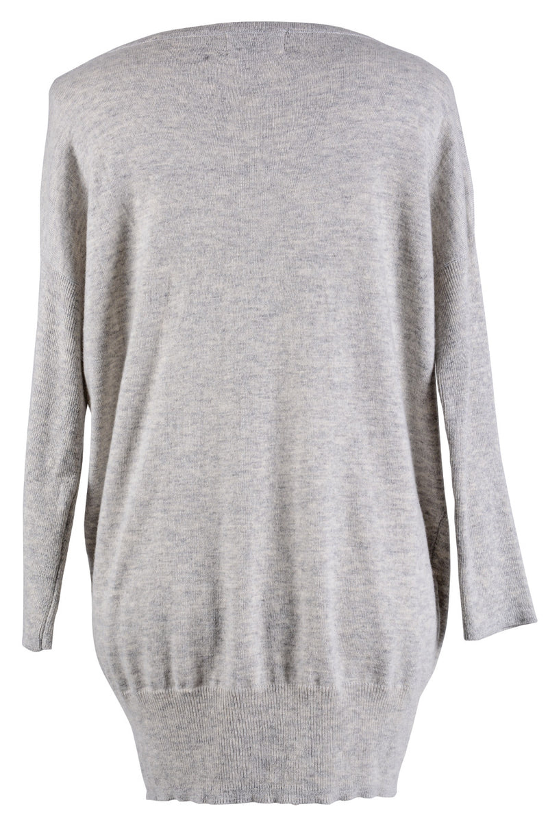 LONDON STYLE RABBITS Grey Printed Jumper
