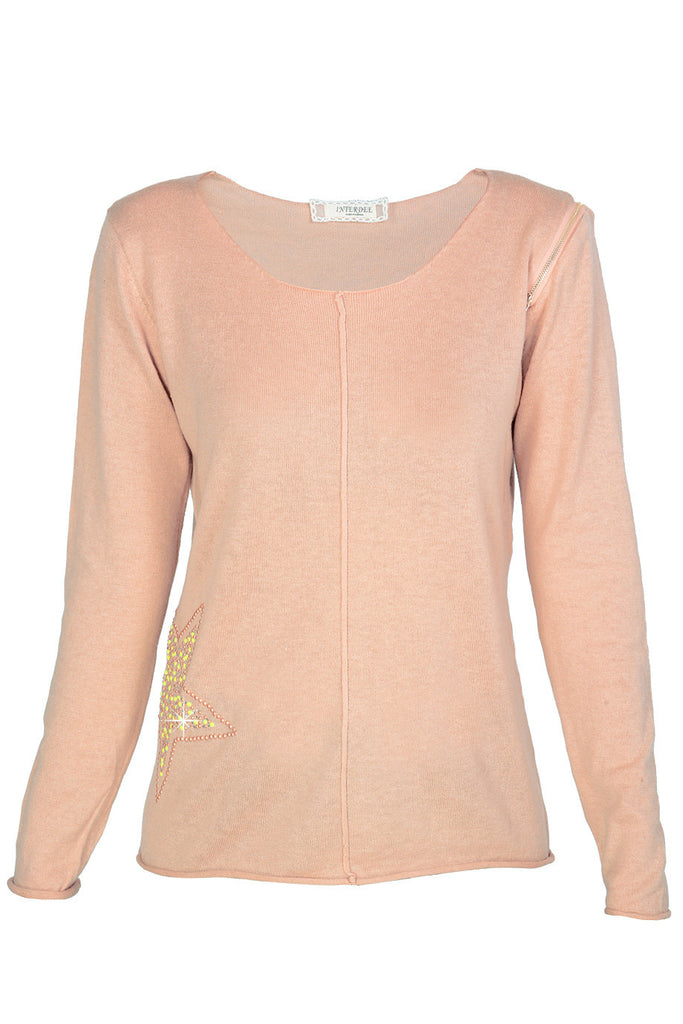 STARLY Light Beige Sweater