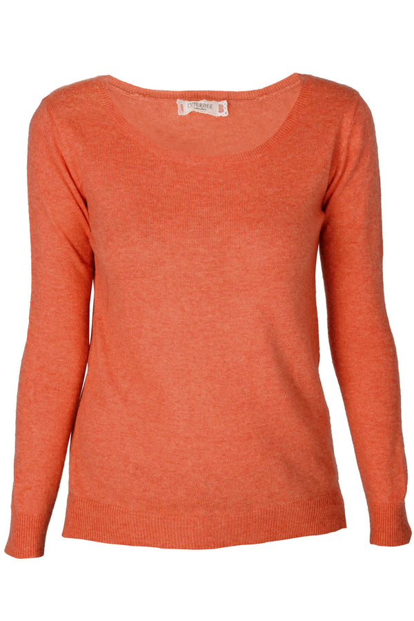 WEST DESERT Coral Studded Sweater