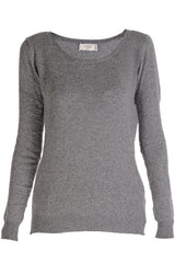 WEST DESERT Grey Studded Sweater