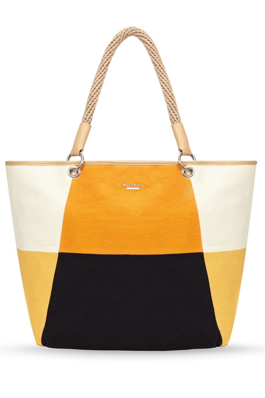 MODALU BOXY Orange Mix Medium Shopper Bag – PRET-A-BEAUTE.COM f3006100f4d89