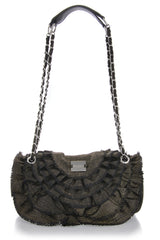 CAN-CAN Black Shoulder Bag