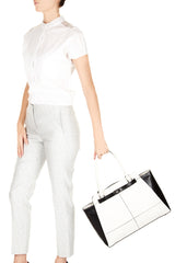 MARLOW White Black Grab Bag