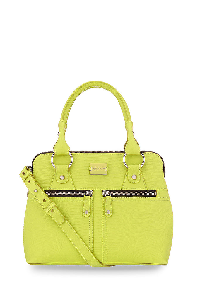 PIPPA Mini Grab Lime Lizard Bag