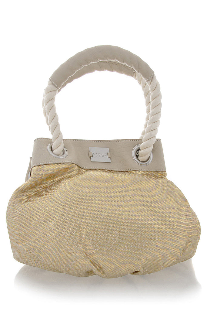 SARDINIA Gold Shoulder Bag