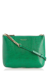 TWIGGY Emerald Green Lizard Crossbody