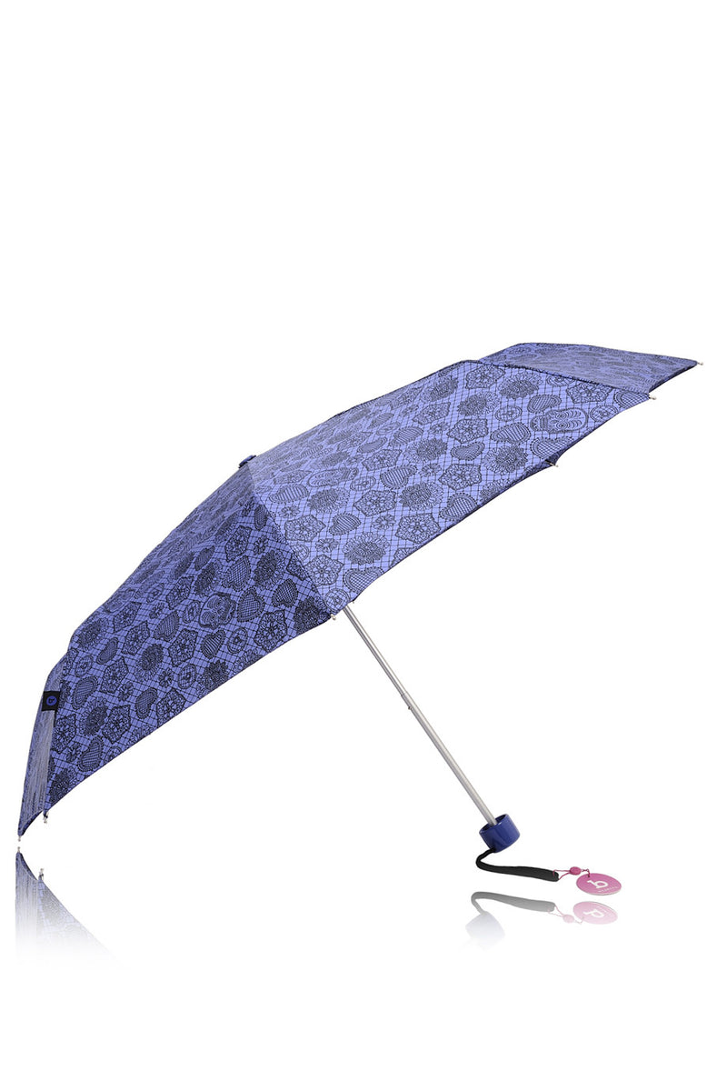 BISETTI Purple Printed Umbrella