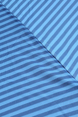 STRIPED Blue Printed Umbrella