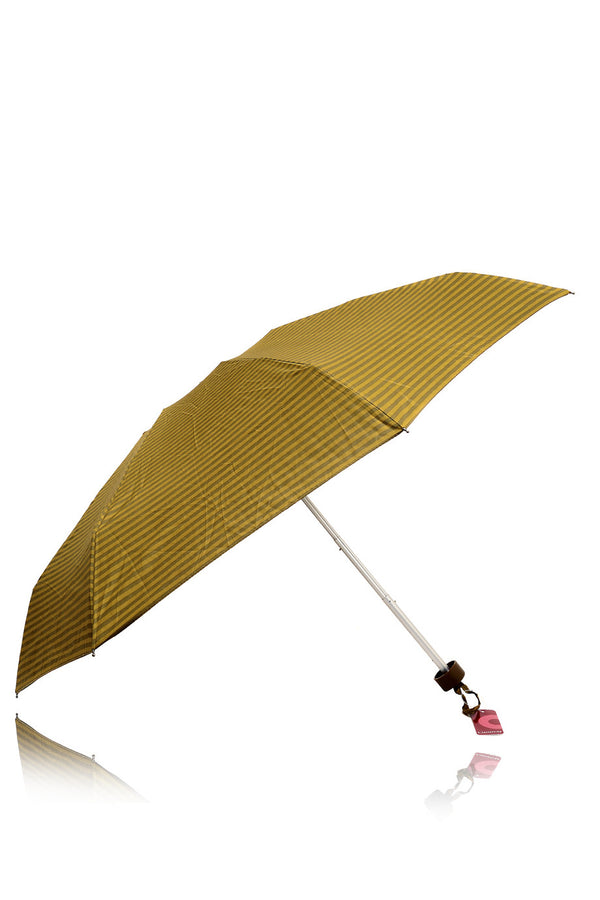 STRIPED Olive Printed Umbrella