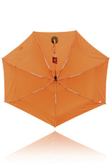 STRIPED Orange Printed Umbrella