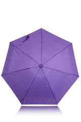 STRIPED Purple Printed Umbrella