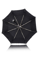 STRIPES & DOTS Zebra Black White Printed Umbrella