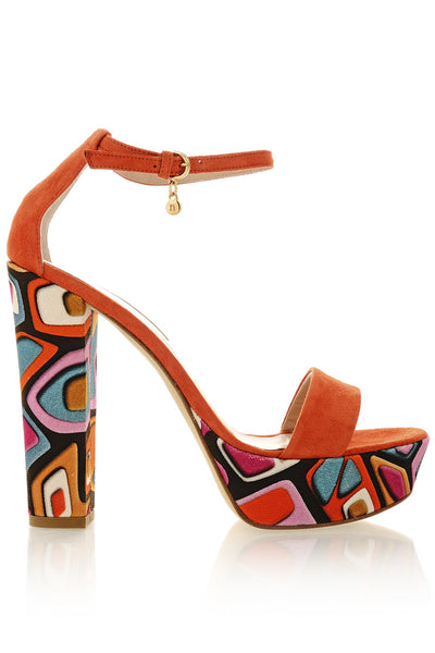 COLOR FANTASY Orange Platforms