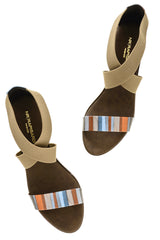 RAINBOW Brown Wedges