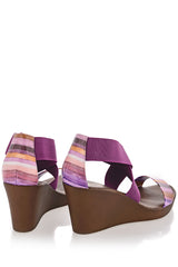 RAINBOW Purple Wedges