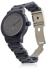 C4118 Blue Black Plastic Watch