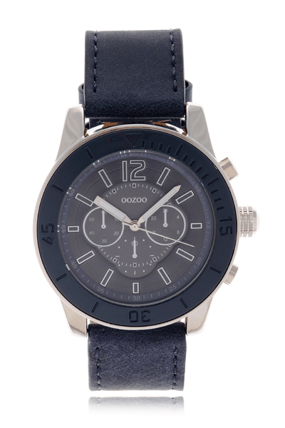 C4561 DARK BLUE Leather Watch