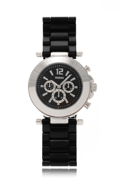 C4884 BLACK Plastic Watch