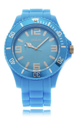 FLUO BLUE Silicone Watch