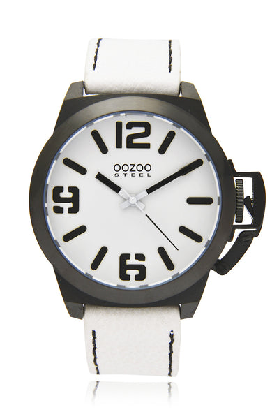 OS112 Black & White Watch