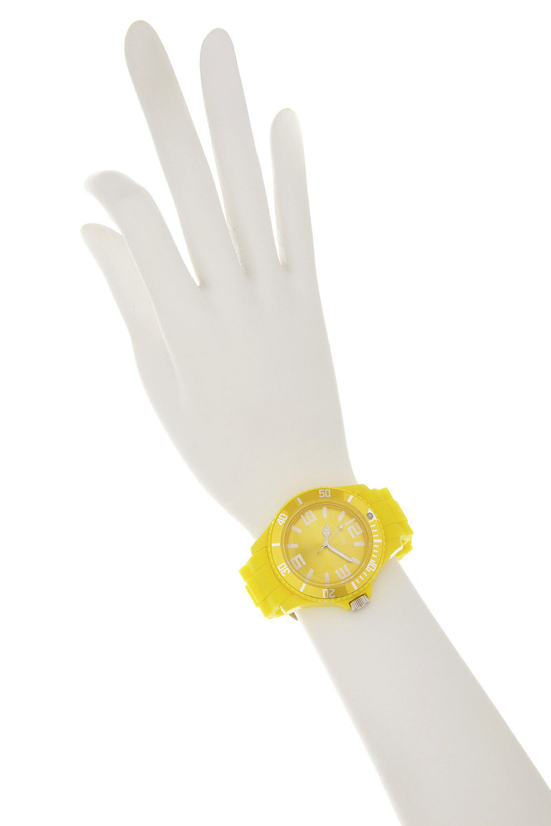 YELLOW Silicone Watch