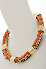 FOSIL Mixed Rope Riversible Necklace