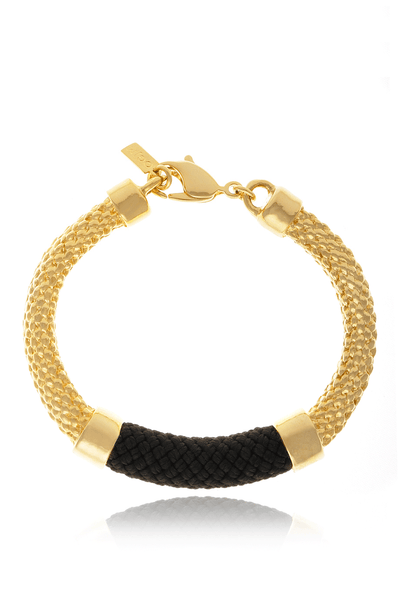 CROSBY Black Rope Bracelet