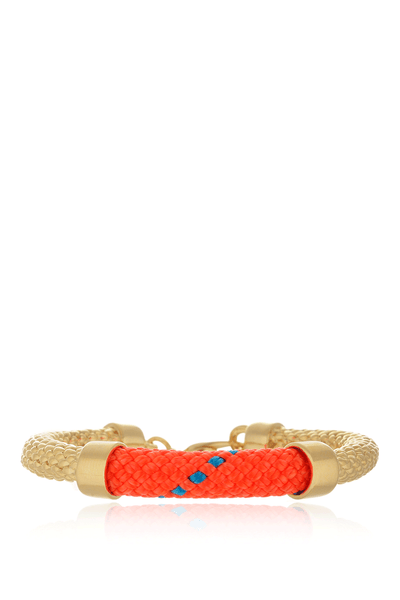 CROSBY Neon Orange Rope Bracelet
