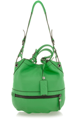 ZOE Green Large Shoulder Bag