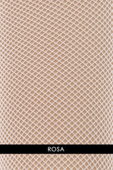 OSÉ RETINA Fishnet Tights Rosa