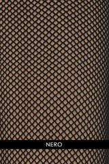 OSÉ RETINA Black Fishnet Tights