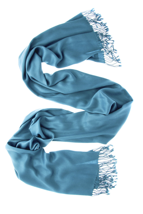 MAYA Viscose Light Petrol Woman Scarf