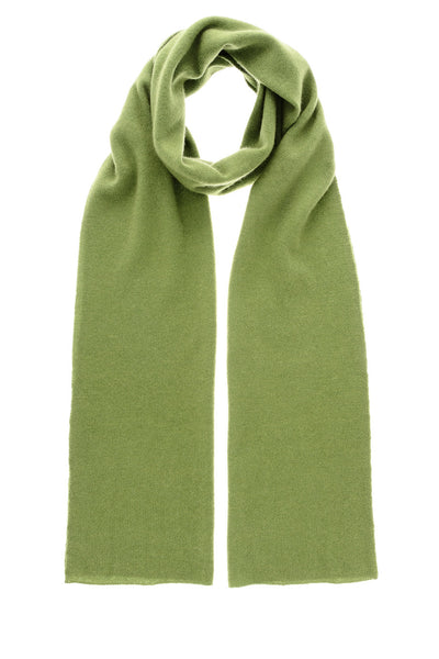 NEPAL Green Cashmere Woman Scarf