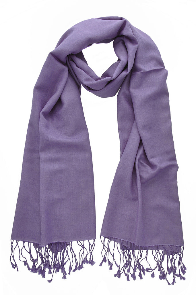SHERPA Lilac Cashmere Woman Scarf
