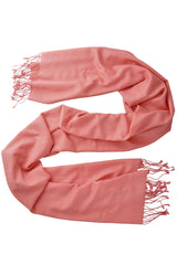 SHERPA Rose Coral Cashmere Woman Scarf