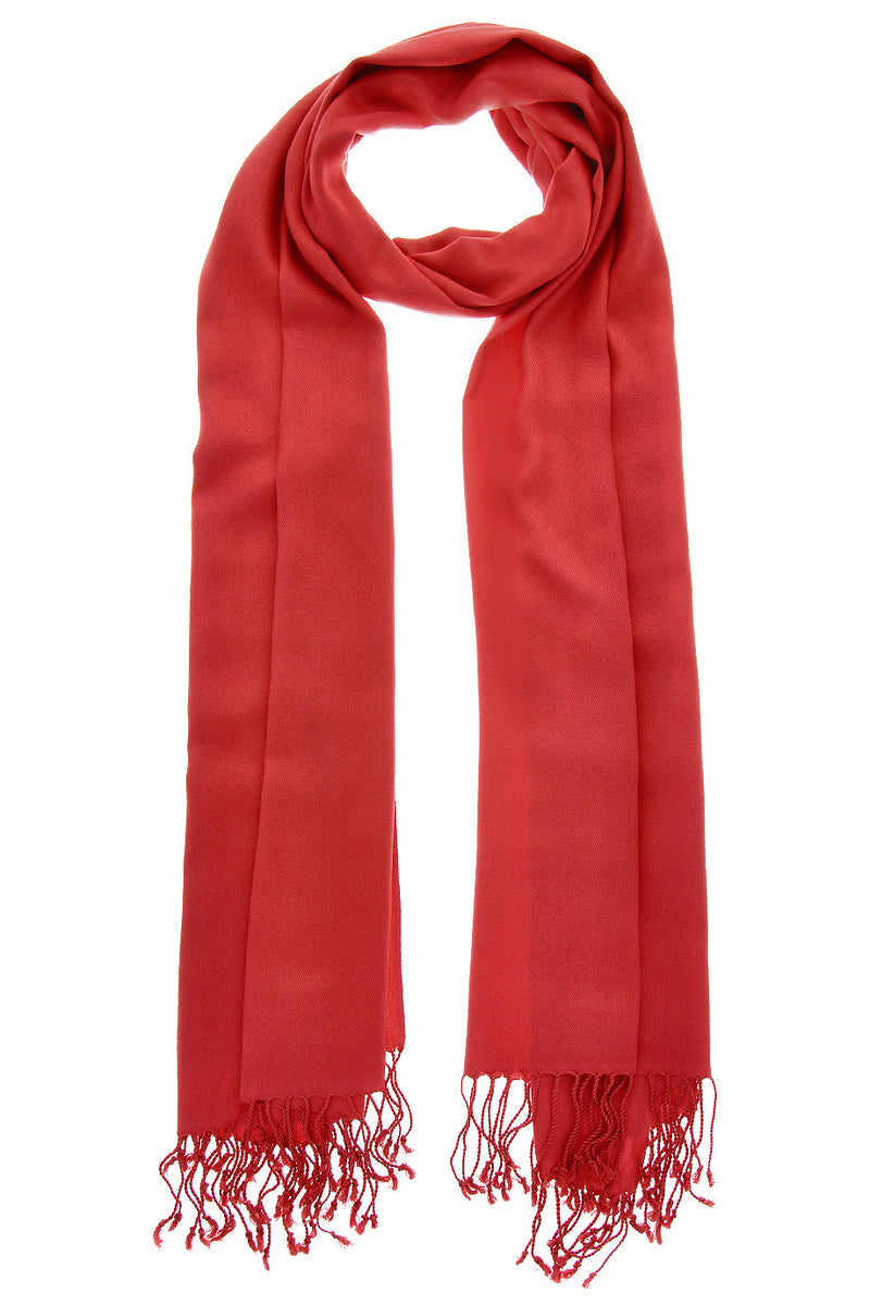 MAYA Viscose Red Fuchsia Woman Scarf
