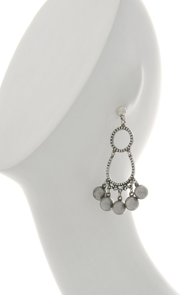 PHILIP AUDIBERT JUNIVIA Silver Beads Earrings