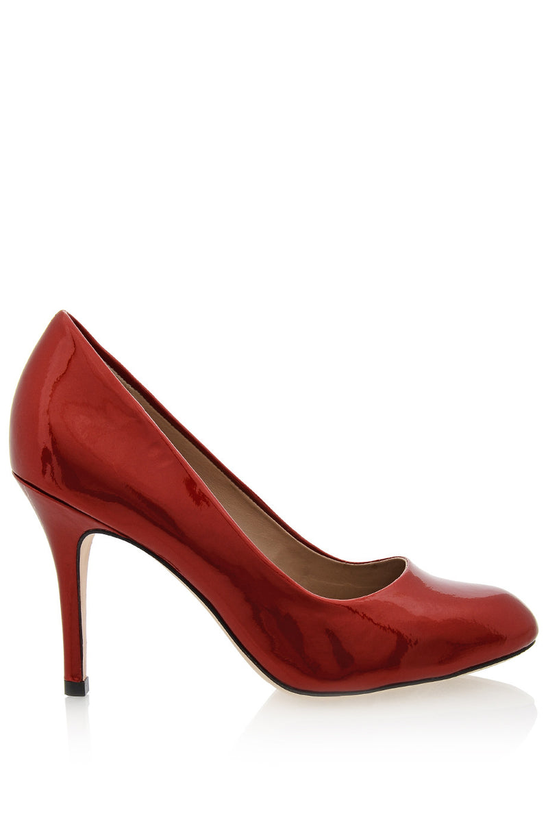 ALDITH Pearl Campari Red Patent Leather Pumps
